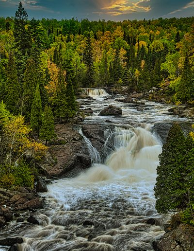 Photograph of waterfalls by Jessica Curning-Kuenzi