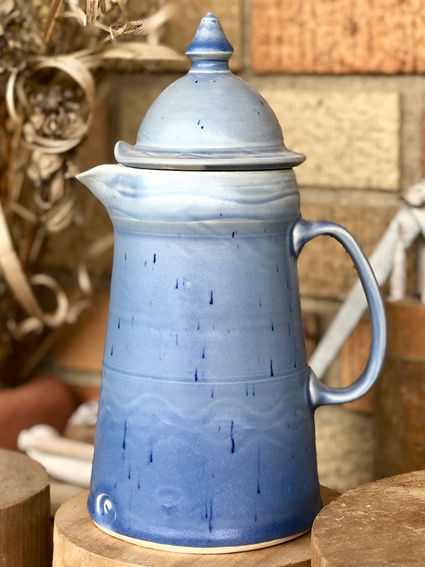 Ceramic pitcher by Heidi Clayton