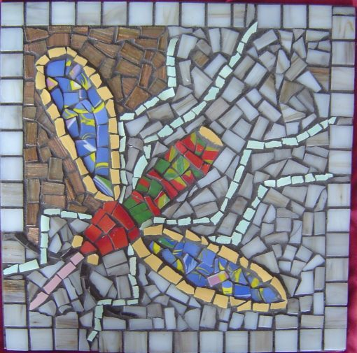 Mosaic tile by Sarah Aslakson