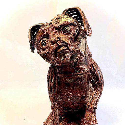 sculpture of Lulu by John Pahlas