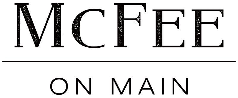 McFee on Main logo