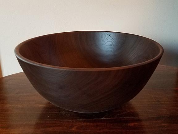 Bob Bergman wood bowl