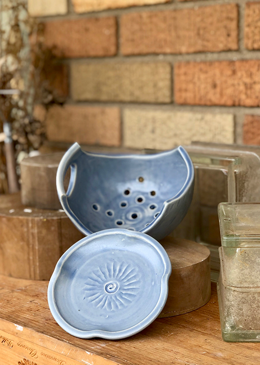Ceramic Berry Bowl by Heidi Clayton