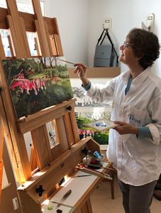 Pamela Grabber at work