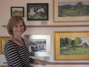 Jane Varda, artist with work