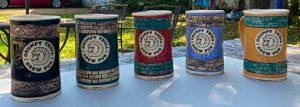 Kelley Mikel's ceramic mugs
