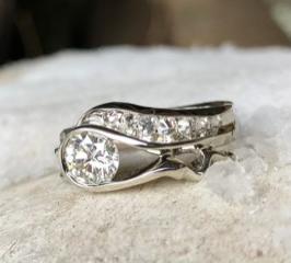 Patty Klarer;rings; Gold, Diamonds
