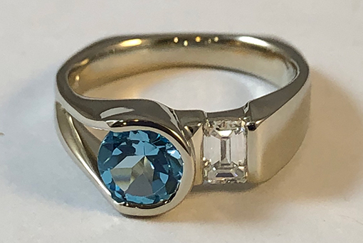 Patty Klarer, Jeweler, ring