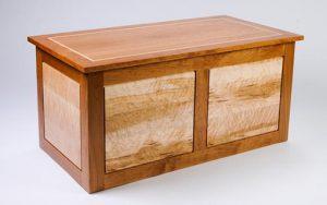 Tom Laudin, woodworker, Blanket Chest
