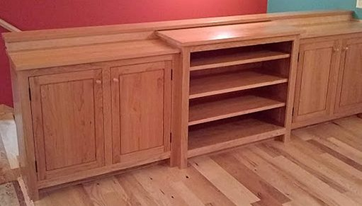 Tom Laudin, woodworker, Credenza