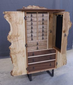 Tom Laudin, woodworker, Armoire