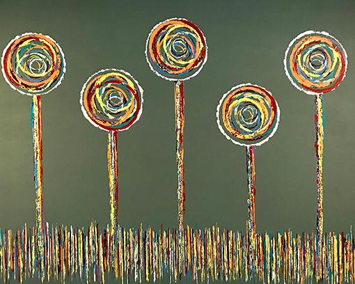 Susan Mendenhall, 'Eye Candy'