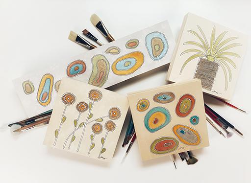 Susan Mendenhall, RecentWorks, watercolor
