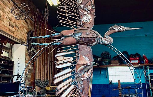 John Pahlas, work in progress (Heron)