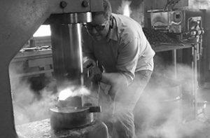 Luke Proctor, blacksmithing