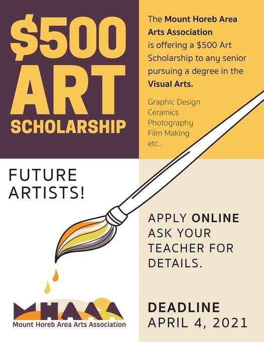 MHAAA Scholarship Poster