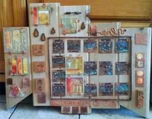 Sue Schuetz, Assemblage, metal, mixed