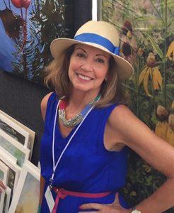 Karen Watson-Newlin at her booth