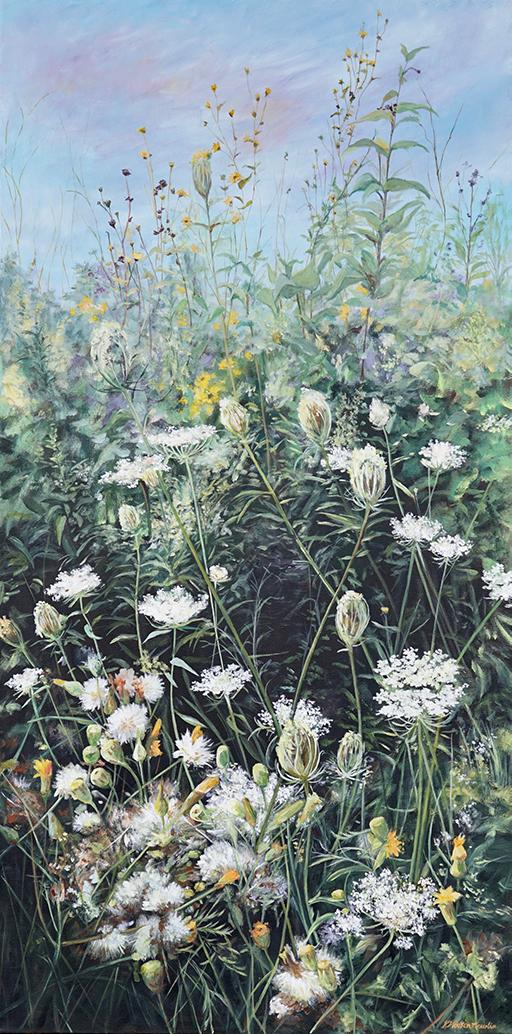 Karen Watson-Newlin, 'Regal Display', acrylic
