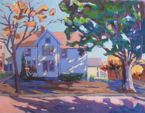 'Chadbourne Ave. No. 2' Oil on Canvas by Chuck Bauer