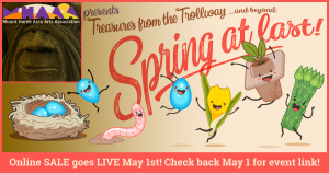 Treasures from the Trollway...and Beyond: 'Spring at Last' goes live May 1 (through May 31)