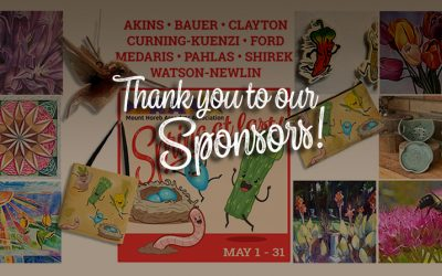 """Thank you to our """"Treasures from the Trollway"""" Sponsors!"""